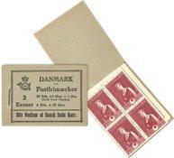 Danmark - 2 kr hæfte stålstik  - AFA13