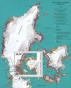 Grønland - Moderne Kunst - Stemplet miniark