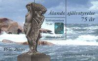 Åland - Selvstyre miniark - postfrisk - Ikke specificeret