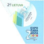 Litauen - EXPO Zaragoza - Postfrisk frimærke
