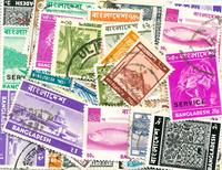Bangladesh - 50 forskellige frimærker