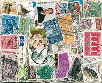 Belgique - 650 timbres différents