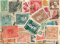 Brésil - 70 timbres différents