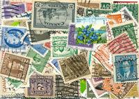 Canada - 200 forskellige frimærker