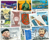 Finlande - 115 timbres différents