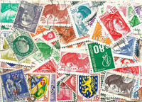 France - 200 timbres différents