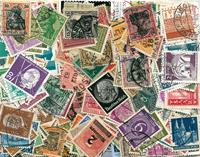 Tyskland incl. Bayern, Württemberg, Saar, Berlin -  500 forskellige frimærke
