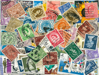 Great Britain - 570 different stamps