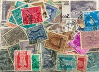 India - 200 francobolli differenti