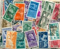 Italia - 450 francobolli differenti