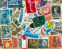 Pays-Bas - 350 timbres différents