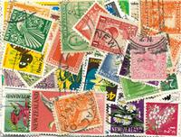 New Zealand - 100 forskellige frimærker