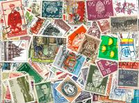 Norge - 280 forskellige frimærker