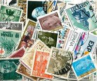 Spagna - 200 francobolli diffeenti