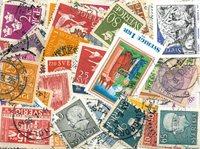 Suède - 250 timbres différents
