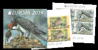 Bulgarien - Fugle Europa 2019 - Stemplet hæfte