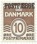 Danmark - Postfærge - AFA 21 - Postfrisk