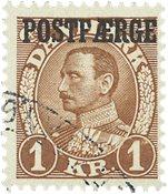 Danmark - Postfærge - AFA 20 - Stemplet