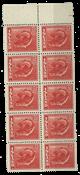 Island - 1938 postfrisk 10 blok
