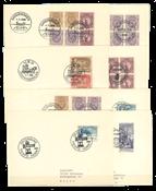 Sverige - 1966-1981 særstempler