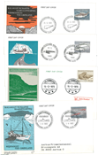 Greenland - Approx. 50 first day covers