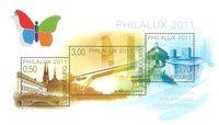 Luxembourg - Philalux - Postfrisk udstillingsminiark