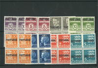 Danmark - Postfærge - 8 stk. 4 blok - postfrisk
