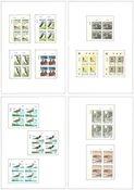Îles Féroé - Collection de blocs marginaux 1975-97