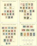 Holland - Frimærkesamling stemplet