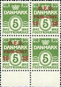 Danemark - 1938 surcharge DFU