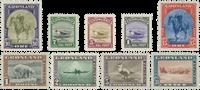 Grønland - Amerikanerudgave - 8-16 ustemplet