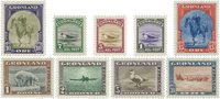 Greenland 1945 - AFA 8-16 - American issue - Mint