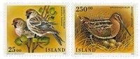 Island - AFA 817-818 - Postfrisk