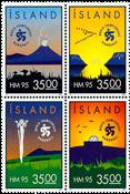 Island - AFA 805-808 - Postfrisk
