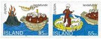 Island - AFA 790-791 - Postfrisk