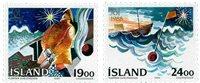 Island - AFA 693-694 - Postfrisk