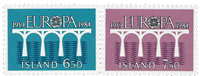 Island - AFA 613-614 - Postfrisk