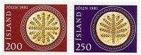 Islande - AFA 575-576 - Neuf