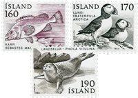 Island - AFA 559-561 - Postfrisk