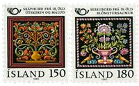 Island - AFA 557-558 - Postfrisk