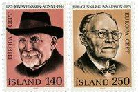 Islande - AFA 553-554 - Neuf