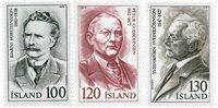 Island - AFA 548-550 - Postfrisk