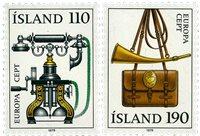 Island - AFA 540-541 - Postfrisk