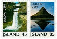Islande - AFA 523-524 - Neuf