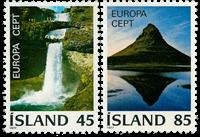 Island - AFA 523-524 - Postfrisk