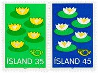 Island - AFA 521-522 - Postfrisk