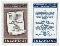 Island - AFA 517-518 - Postfrisk