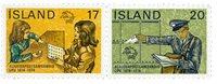 Island - AFA 499-500 - Postfrisk