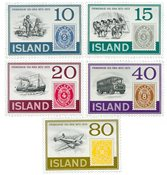 Island - AFA 474-478 - Postfrisk