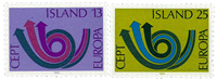 Island - AFA 472-473 - Postfrisk